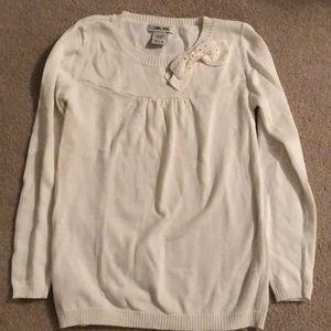 Girls Ivory Sweater